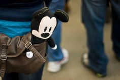 Adorable Mickey doll.