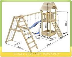 Children garden toys diy projects 37 Ideas for 2019 Kids Backyard Playground, Playground Set, Backyard For Kids, Backyard Projects, Kids Yard, Diy Projects, Outside Activities For Kids, Outdoor Fun For Kids, Wood Playhouse