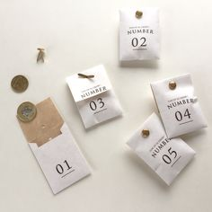 Number packaging