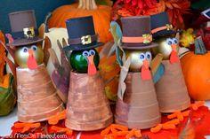 Mom On Timeout: Pilgrim Turkeys...Gobble! Gobble!