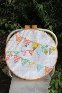 Large Embroidery Hoop Art