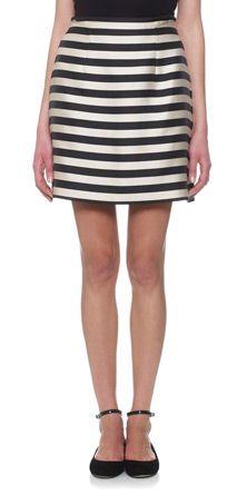 Whistles - Stina Stripe Skirt