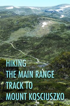 We recently hiked the amazing Main Range track, up to the summit of Mount Kosciuszko, Australia's highest mountain. Discover what you need to know before hiking this hike yourself. Travel Articles, Travel Advice, Travel Guides, Travel Tips, Australia Travel Guide, Visit Australia, Places To Travel, Travel Destinations, Viajes