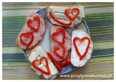 Kanapki z sercem