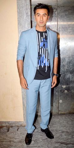 Ranbir Kapoor at the inauguration of Shuruat Ka Interval short film Festival. #Bollywood #Fashion #Style #Handsome