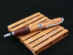 Boligrafo Travel en madera de Olivo y Cocobolo por Casasempere