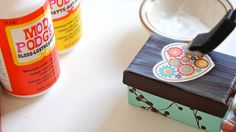 How to use mod podge for first-timers