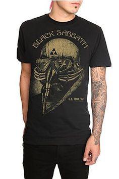 Black Sabbath Death Mask Slim-Fit T-Shirt @ Hot Topic, $20.50