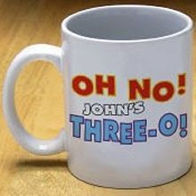 Oh No Personalized Birthday Coffee Mugs Birthday Coffee, Birthday Gifts, Coffee Mugs, Tableware, Birthday Presents, Dinnerware, Birthday Favors, Coffee Cups, Tablewares