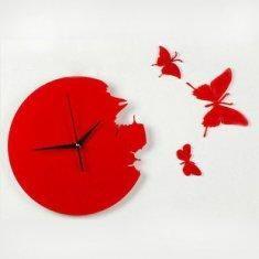 acrylic clock - laser cut.