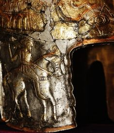 The Helmet of Agighiol, 5th-4th Century BC. Geto-Dacian.