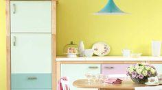 cuisine - mur : jaune