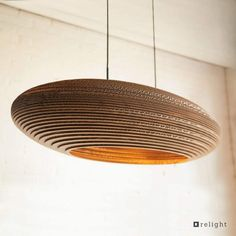 Cardboard Furniture, Funky Furniture, Pendant Light Fixtures, Pendant Lighting, Cardboard Design, Arch Interior, Interior Design, House Front Design, Wood Lamps
