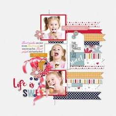 Life is Sweet - Scrapbook.com