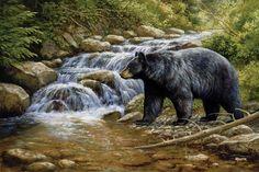 Bear (Horizontal); 4'X6′; #1312732; Price: $129.99; Artist: Rosemary Millette