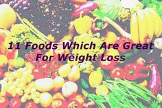 If you want to lose weight, it is useful to know which foods helps with fat loss, and I will mention a few of these amazing foods.