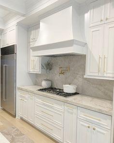 Door Paint Colors, Kitchen Paint Colors, Restoration Hardware Vanity, Life In Pieces, Master Bath Vanity, Quartzite Countertops, French Kitchen, Dark Interiors, Building A New Home