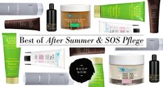 Best of After Summer & SOS Pflege Deep Cleaning, Cleanser, Shampoo, Personal Care, Bottle, Summer, Organic Beauty, Skin Care, Self Care