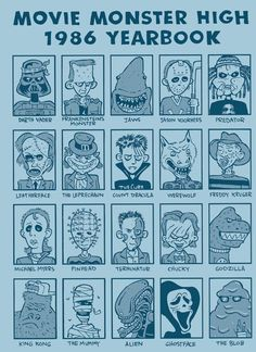 Monster Yearbook-TheGreck