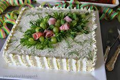 Täykkäri: Voileipäkakku Favorite Recipes, Cake, Desserts, Food, Tailgate Desserts, Deserts, Kuchen, Essen, Postres