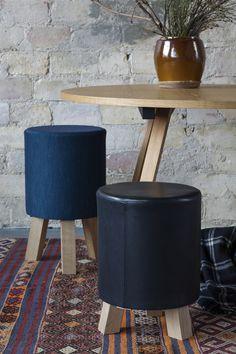 STOOLS designed by Anne Boysen #skamler #skammel #ottoman #fodskamler #anneboysen #pouf