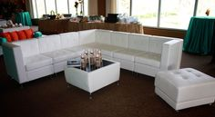Love! White Lounge Furniture for wedding or event! #weddingloungefurniture #weddingdecor #weddingreception