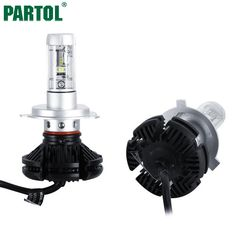 35.20$  Buy here - X3 Partol H4 H7 H11 9005 9006 H13 Car LED Headlights Bulbs 50W 6000LM CREE Chips All in one CSP LED Headlamp 3000K 6500K 8000K  #SHOPPING