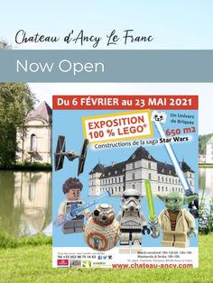 As of February 6, Chateau D'Ancy le Franc is open. Tour the gardens, chateau, or the giant Lego exhibit. In and around our French holiday cottages, tourism sites and events are releasing dates for summer. Watch our Events Calendar for updates on annual music and art events, market days and celebrations around Beaune and Meursault. Stuff To Do, Things To Do, Burgundy France, Lego, Construction, Event Calendar, Exhibit, Cottages, French Country