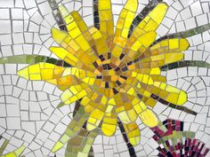 Brooklyn Seeds, mosaic artwork by Jason Middlebrook that adorns the Avenue U Station on the Q Line, by MTAPhotos, via Flickr