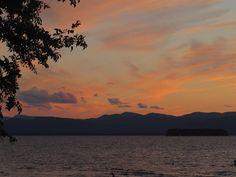 Sunset at Oakledge Park, Vermont