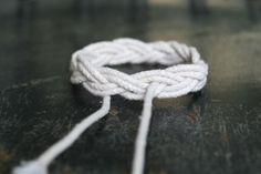 I've got just the rope to make one funky bracelet for the TG (since he's always running away with mine).