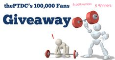 """thePTDC's 100,000 Fans Giveaway"""