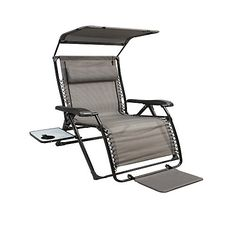 Xl Padded Zero Gravity Chair With Canopy Steel Buy Black & Teal Oversized At Big Lots. | My New Retreat ...