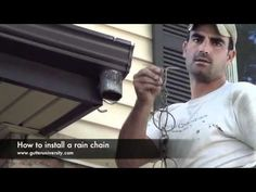 Do you want a rain-removal alternative to your stocky rain gutter? Here are 12 DIY rain chain ideas you can create to replace your gutter. Diy Garden Fountains, Rain Collection, Diy Inspiration, Rainwater Harvesting, Outdoor Projects, Water Features, Backyard Landscaping, How To Stay Healthy, How To Find Out