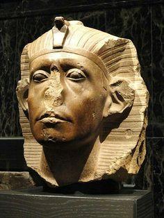 Head of Sesostri III.