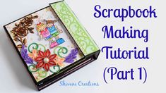 How to make Scrapbook Base/ Friendship Day Scrapbook/ DIY Scrapbook Tuto...