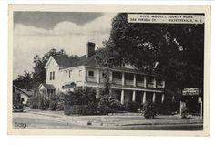 Vintage Postcard Fayetteville North Carolina NC Dinty Moore's Tourist Home