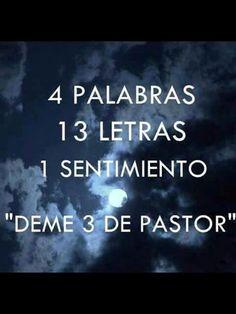 Sentimientos al pastor;)