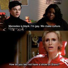 We make culture #Glee