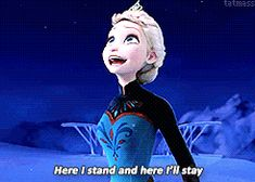 Elsa GIF 5: Stomp (Request) by royal-tarts