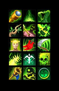 The set includes 100 skills icons. There are PNG versions of art. Game Icon, Game Dev, Interface Design, User Interface, Pixel Size, Game Props, Ui Elements, Sprites, 2d Art