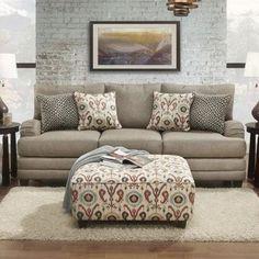 Sofa in Romero Badger   Nebraska Furniture Mart