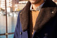 Le port de Cassis @Comme un camion : blog mode homme #caban #col #laine #pull #torsades #chemise #look #coat #menswear