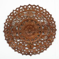 Google Image Result for http://kanthaidecor.com/resources/New_Products/Lotus%2520Flower%2520Teak%2520Panel%252024%2520inch%2520diameter.jpg.opt440x440o0,0s440x440.jpg