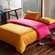 Orange Mood Hotel Collection Bedding Sets [100900500010] - $169.99 : Colorful Mart, All for Enjoyment Hotel Collection Bedding, Queen Size, Bedding Sets, Comforters, Duvet Covers, Pillow Cases, Blanket, The Originals, Colorful