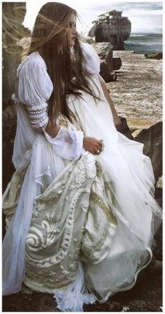 Bride by the sea…