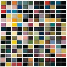 Gerhard Richter :: 180 Farben / 180 Colours 1971 Oil on canvas