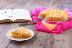 Torta soffice al melone senza burro