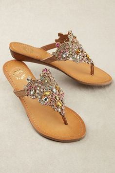 8a3db7fc3c02 Crown your feet with the sparkle of our glamorous thong-style sandals