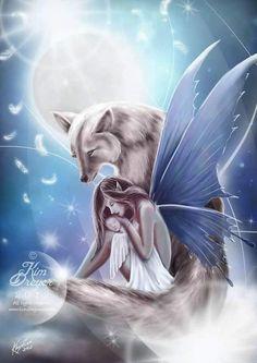 Fairy Art by Kim Dryer